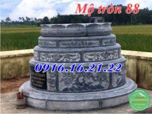 Lăng mộ hình tròn đẹp 88