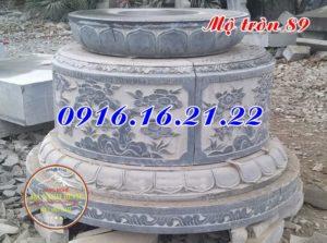 Lăng mộ hình tròn đẹp 89