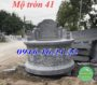 Mẫu mộ tròn bằng đá 41