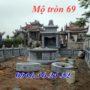 Mẫu mộ tròn phong thủy 69