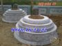 Mẫu mộ xây tròn đẹp 49