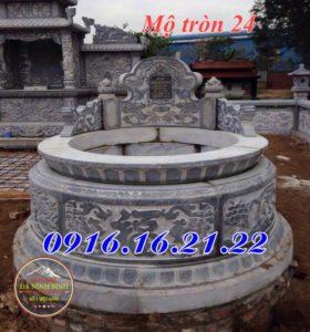 Mộ tròn đá 24