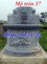 Xây mộ hình tròn 37
