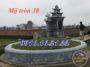 Xây mộ hình tròn 38