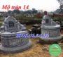 Xây mộ hình tròn đẹp 14