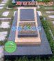 Bia mộ đá hoa cương 128