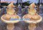 Đài phun nước cá chép bằng đá vàng 59