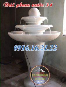 Hình ảnh 18 mẫu tháp bi đá phun nước sân vườn giá rẻ