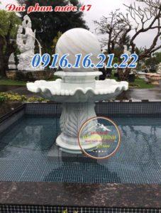 Mẫu 21 đài phun nước phong thủy sân vườn đẹp