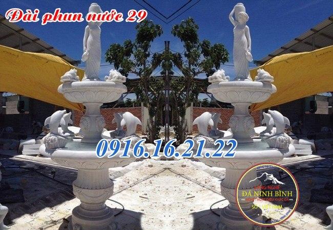 Mẫu đài phun nước sân vườn 29