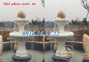 Mẫu đài phun nước tháp bi 46