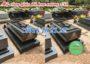 Mẫu mộ đá hoa cương công giáo 150