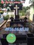 Mẫu mộ đá hoa cương công giáo 26