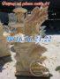 Tượng cá chép hóa rồng phun nước bằng đá 61
