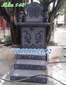 Bàn thờ thiên bằng đá kích thước bàn thờ thiên