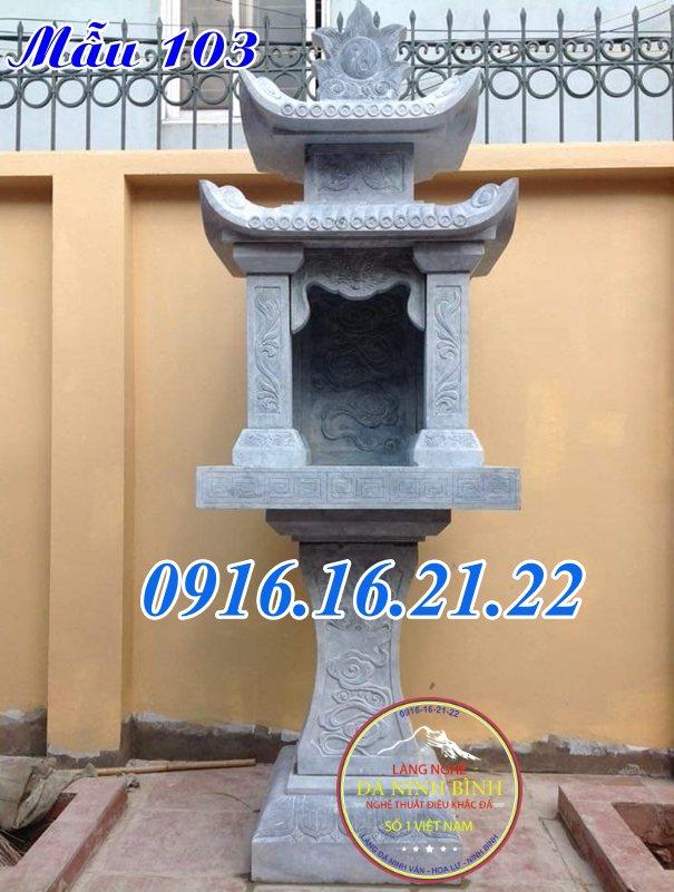 Bàn thờ trời đất thổ công thổ thần tại công ty 103