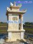 Mẫu am thờ ngoài trời thờ quan âm bồ tát bằng đá khối 52