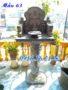 Mẫu bàn thờ ngoài trời thờ trời đất 63