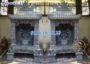 Mẫu miếu nhỏ thần linh ngài trời tại nhà bằng đá đẹp 33