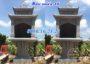 Miếu thờ thần linh thờ đất ngoài trời bằng đá đẹp 16