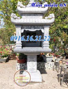 Miếu thờ thổ thần thờ đất bằng đá đẹp nhất giá rẻ 68