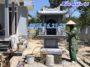 Miếu thờ thổ thần thờ đất bằng đá tại nhà riêng đẹp 06