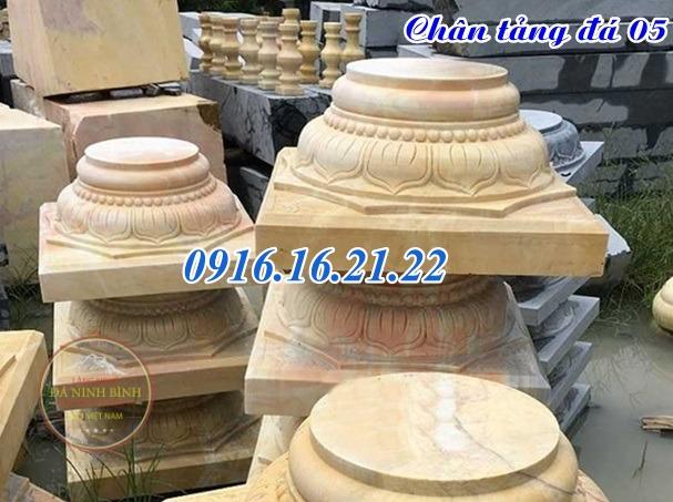 Chân tảng đá kê chân cột gỗ nhà thờ đẹp nhất năm 2020
