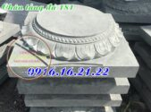 Chân tảng đá kê cột nhà đẹp nhất