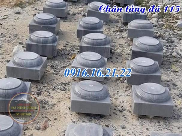 Mẫu chân tảng đá đơn giản