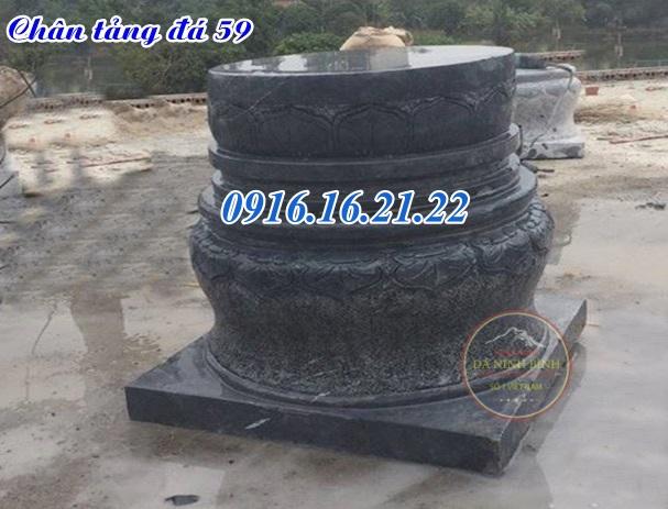 Chân tảng đá kê cột gỗ nhà thờ đẹp tại đắc lắc 59