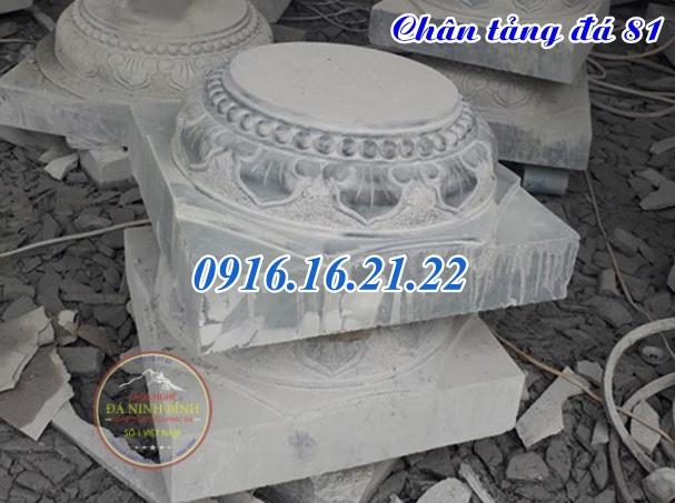 Chân tảng đá kê cột gỗ nhà thờ nhà sàn đẹp tại đắc lắc 81