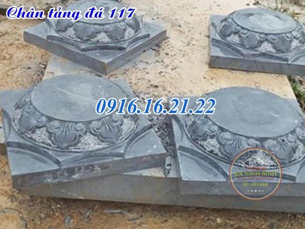 Chân tảng đá kê cột gỗ nhà thờ tại đắc lắc 117