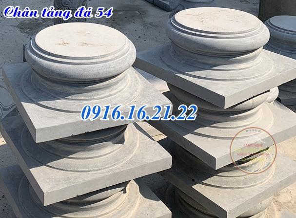 Chân tảng kê cột gỗ nhà sàn đẹp tại đắc lắc 54