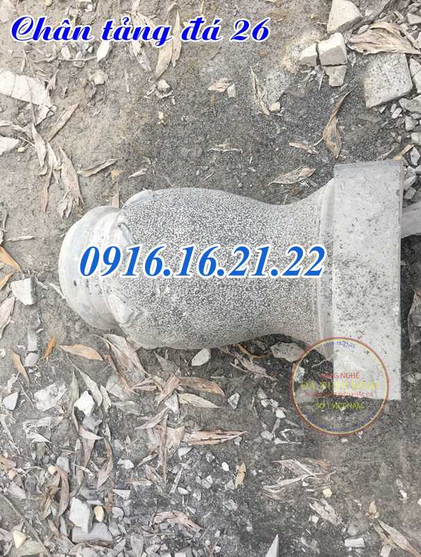 Mẫu chân tảng đá đơn giản kê cột nhà tại Đăk Lăk 26