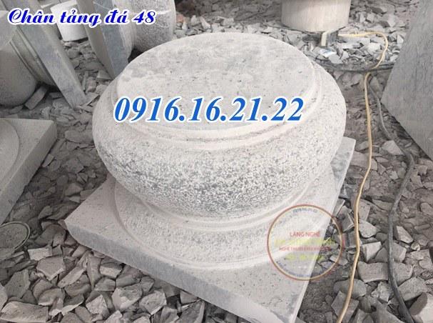 Tảng đá đơn giản kê cột nhà gỗ tại Đăk Lăk đẹp 48