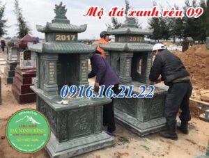 23 mẫu lăng mộ đá xanh rêu đẹp giá rẻ