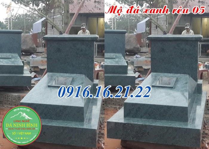 Giá mộ đá xanh rêu 23 mẫu lăng mộ đá xanh rêu đẹp giá rẻ