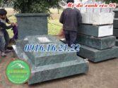 Những mẫu mộ đá xanh rêu hiện đại đẹp nhất hiện nay