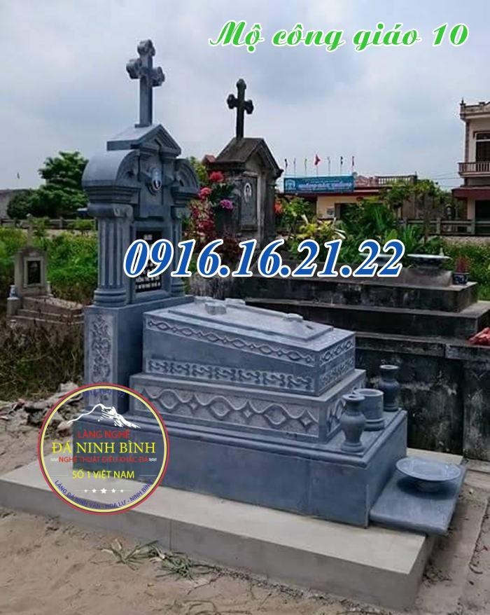 Đặc điểm mộ công giáo bằng đá