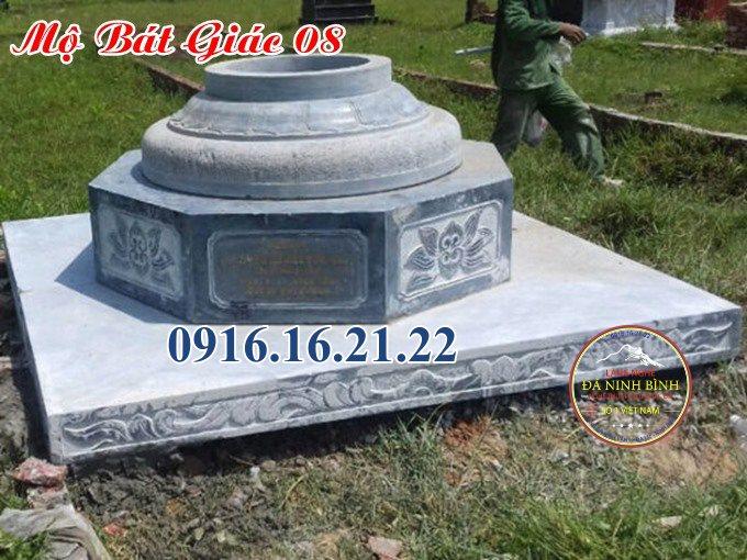 Mẫu mộ bát giác đẹp