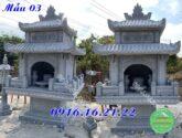 Miếu thờ nhỏ thờ thần linh thiết kế đẹp tại đồng nai