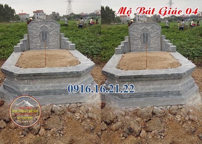 Xây mộ hình bát giác