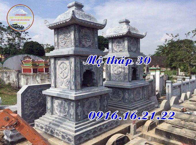 12 mẫu thiết kế mộ tháp đá tại Long An